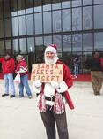 It is a black Friday indeed when Santa can't get a ticket to see Alabama v. Auburn