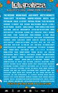 2018 Lollapalooza Lineup Announced Featuring Bruno Mars, The Weeknd & Jack White