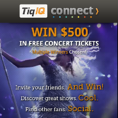 Enter the I Heart Live Music Contest & Win $500 in FREE Tickets!