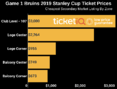 How To Find Get Cheapest Game 1 Stanley Cup Finals Tickets At TD Garden
