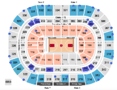 Wells Fargo Center Seating Chart + Rows, Seats and Club Seats