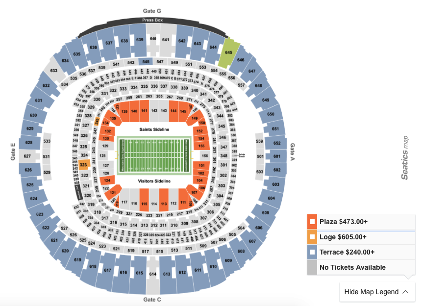 How To Find The Cheapest Saints Vs. 49ers Tickets on 12/8/19