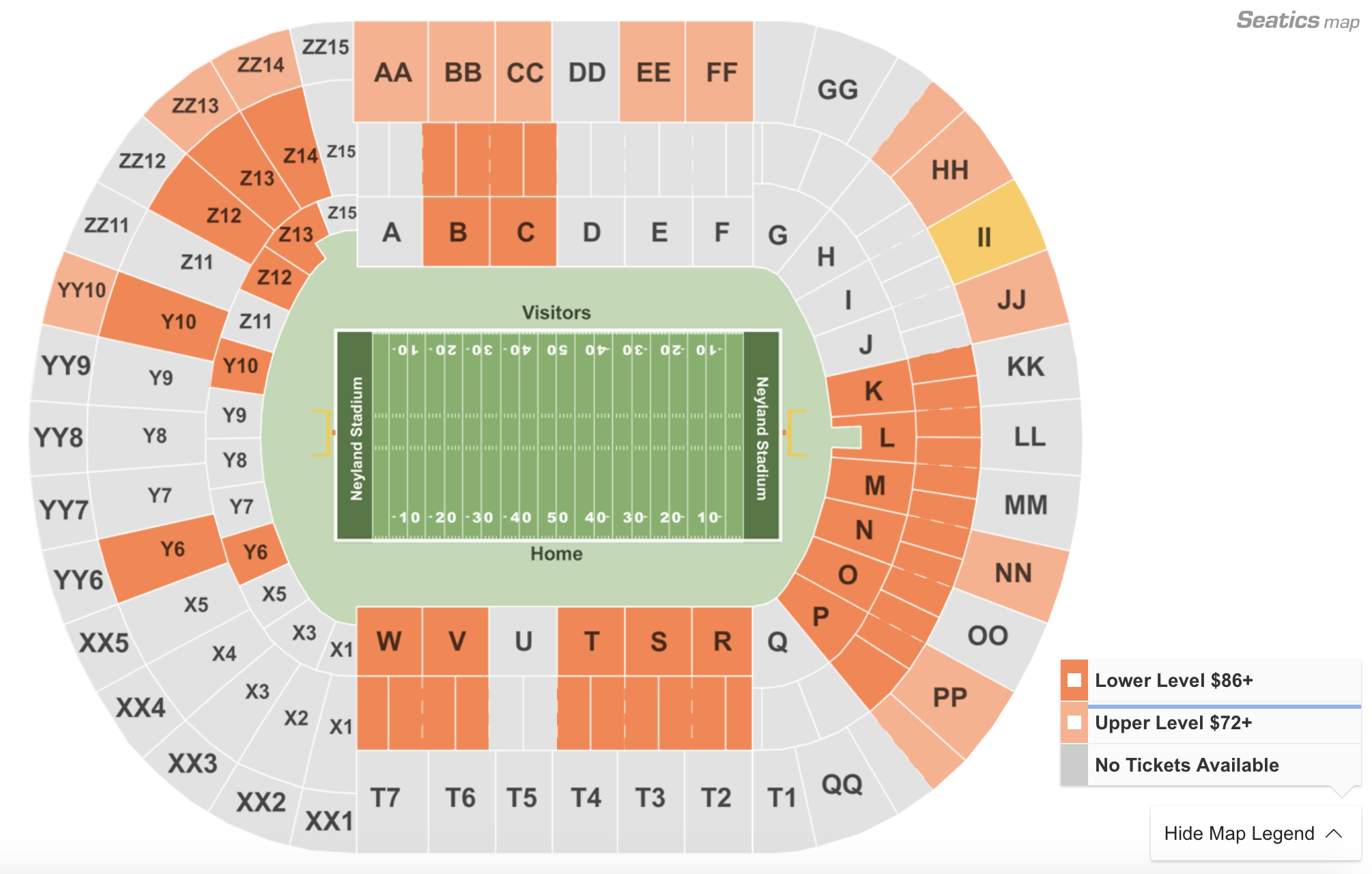 Where To Find The Cheapest Tennessee Vs. Georgia Football Tickets At Neyland Stadium On 10/5/19