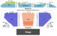 Winter Garden Theater Seating Chart + Section, Row & Seat Number Info