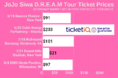 How To Find Cheapest Tickets For JoJo Siwa D.R.E.A.M. Tour 🎀 Face Price Options