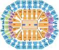 KFC Yum! Center Seating Chart + Rows, Seats and Club Seats