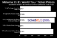 How To Find The Cheapest Maluma 11:11 World Tour Tickets