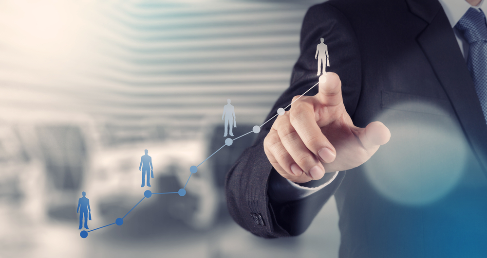 businessman hand working with new modern computer and business strategy as concept-2