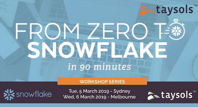 Workshop: From Zero to Snowflake in 90 minutes
