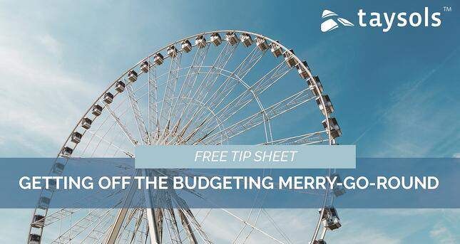 Getting off the budgeting merry-go-round