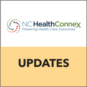 NC HealthConnex: Submit Your Participation Agreement by 6/1/2019!