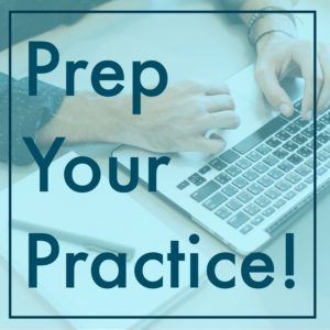 Prep Your Practice! (for migration!)
