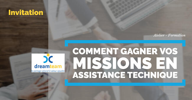 Jeudi 26septembre2019 FORMATION «Gagnez vos missions en assistance technique» – PARIS