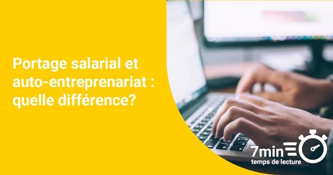 Portage salarial et auto-entreprenariat : quelle différence?