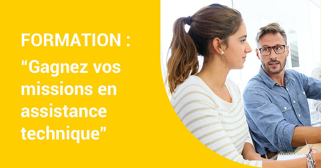Jeudi 16 juillet 2020 FORMATION «Gagnez vos missions en assistance technique» – Formation en ligne