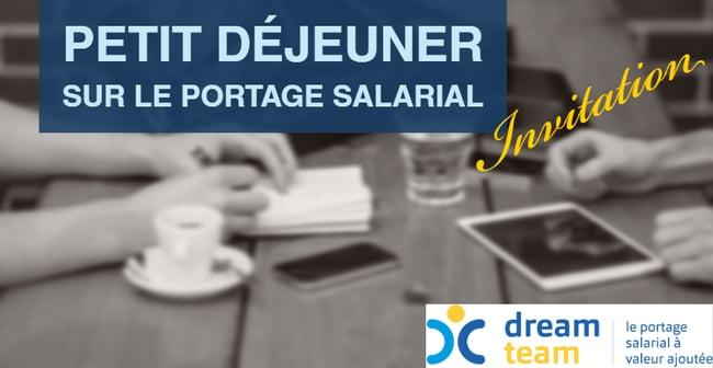 Jeudi 16 janvier 2020 PETIT DÉJEUNER SUR LE PORTAGE SALARIAL Paris