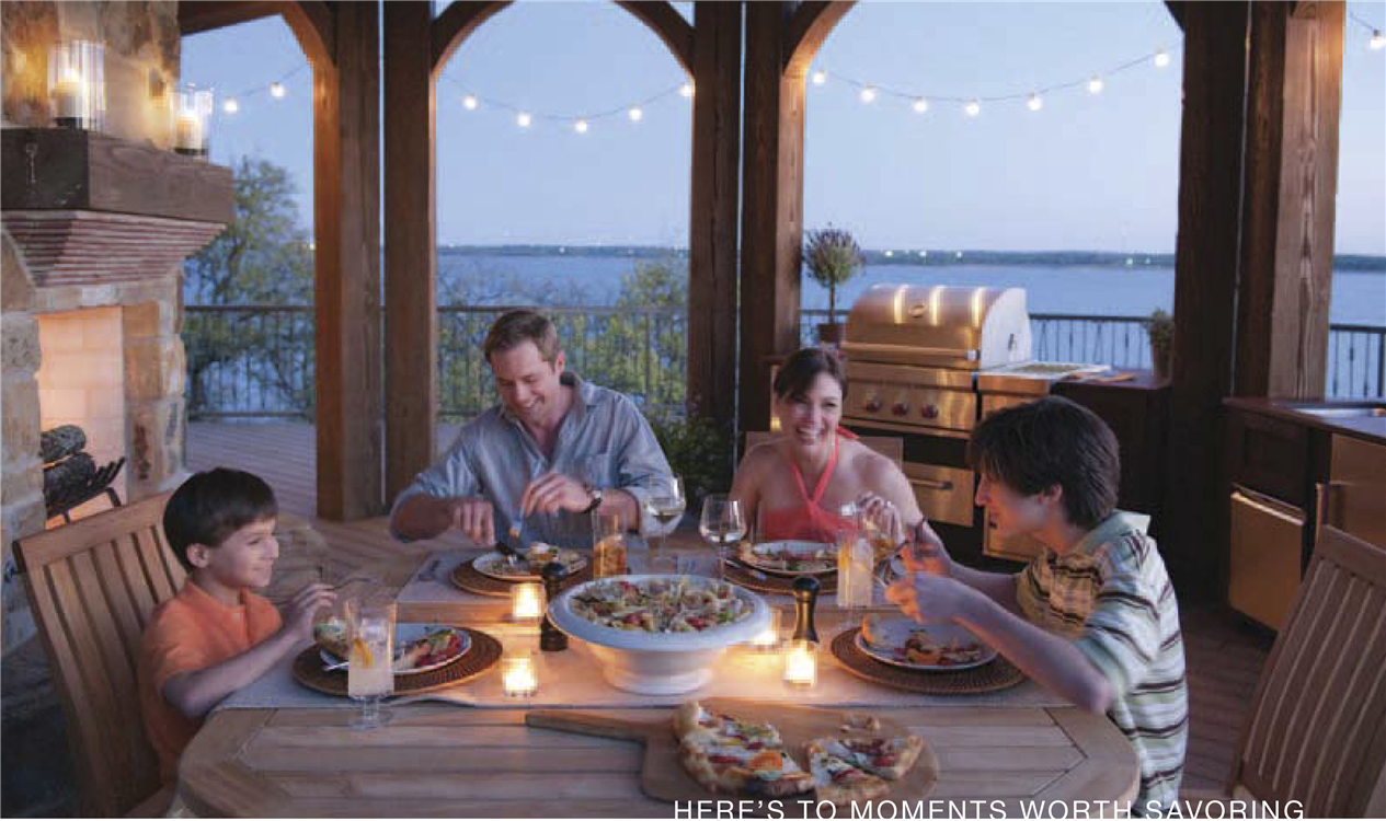Gather the family and really enjoy being outside together!