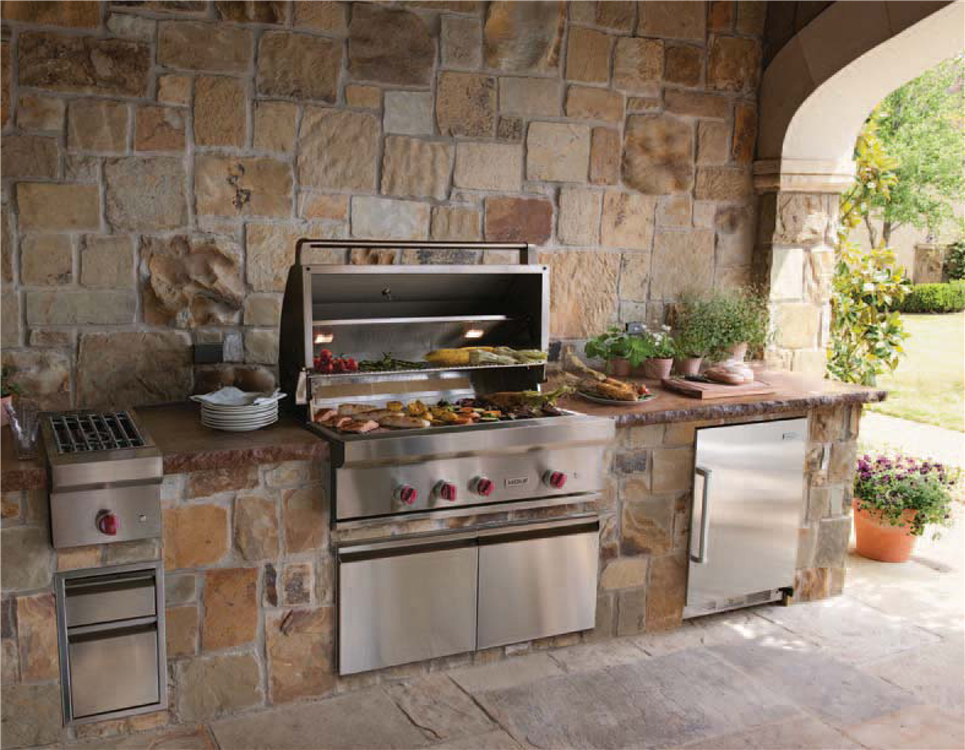 Outdoor summer kitchens orlando tampa florida Summer kitchen design
