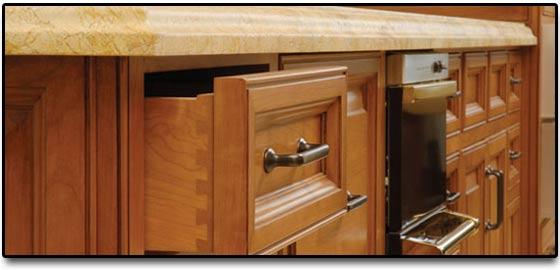 cabinet refacing with decorative specialties
