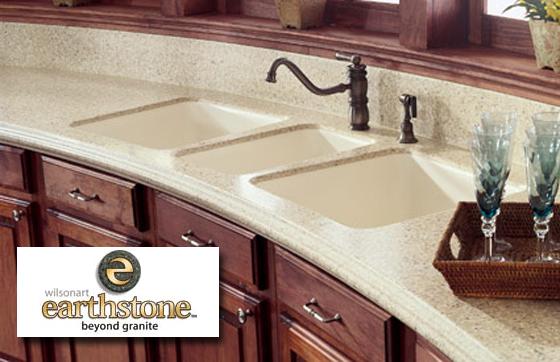 Kitchen Countertops Wilsonart Earthstone Solid Surface