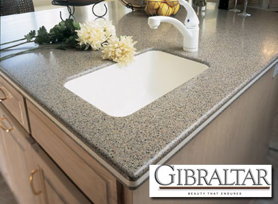 Kitchen Countertops Wilsonart Gibraltar Solid Surface