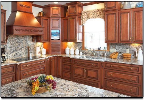 Cabinet Refacing With Holiday Real Wood Products