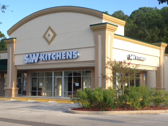 Palm Harbor S&W Kitchens storefront