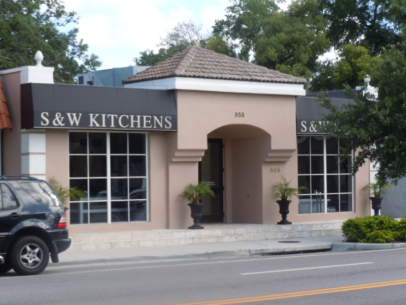 Winter Park S&W Kitchens storefront