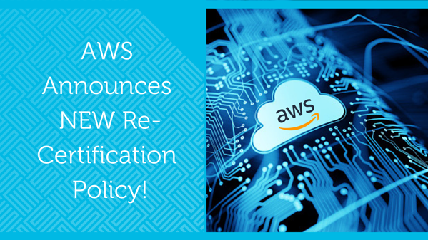 AWS Re-Certification period extended from 2 years to 3 years!