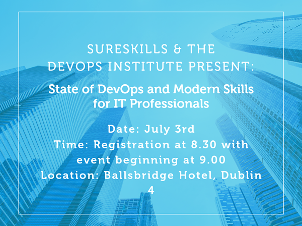 EVENT:The State of DevOps and Modern Skills for IT Professionals