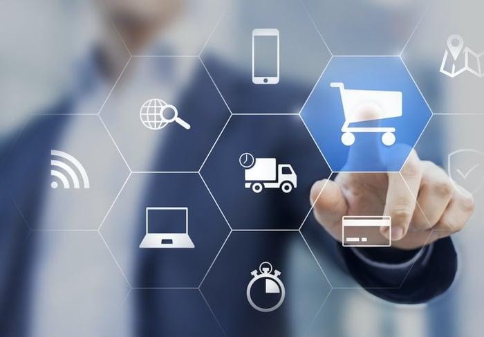 Un magazzino automatico per l'e-commerce