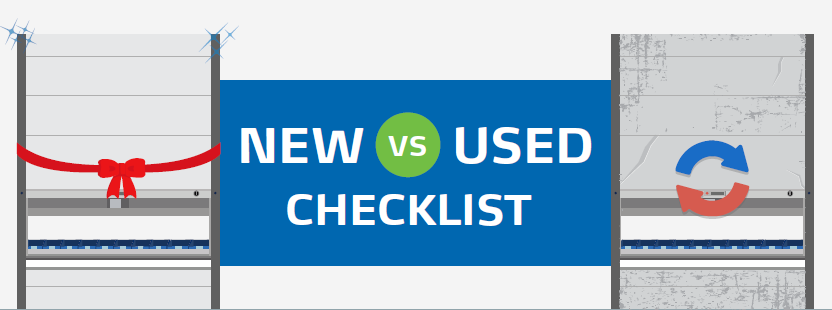 New vs. Used Vertical Carousel or VLM: A Buyer's Checklist
