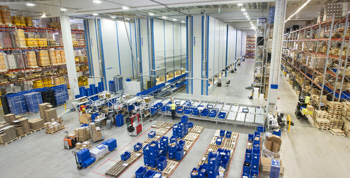 Benefits of ASRS - Automated Warehouse