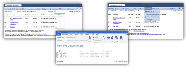 Batch file downloads