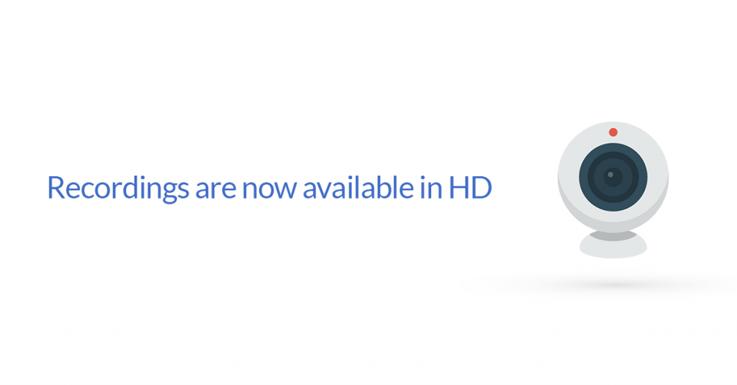 Webcam HD recordings