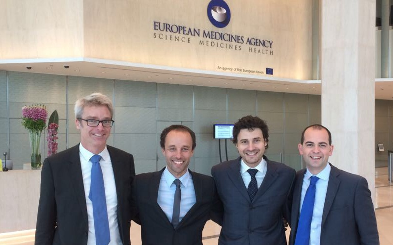 Team Igenomix and Asphalion at the European Medicines Agency