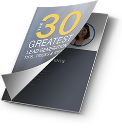 Free e-book: The 30 Greatest Lead Generation Tips, Tricks & Ideas