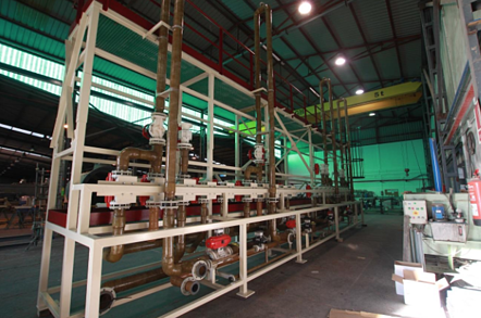 fabricación de tuberías en FRP