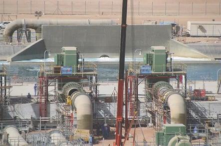 Tuberías para la planta petroquímica Abu Dhabi Rowais