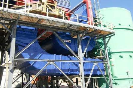 Sistemas de conductos rectangulares para sistema de desulfuración