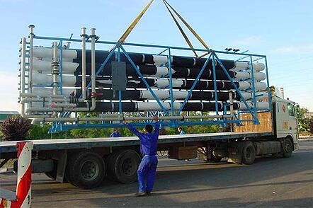 planta de tratamiento de agua en central térmica ciclo combinado