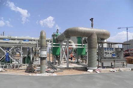 Sistemas de tuberías para una central térmica de ciclo combinado