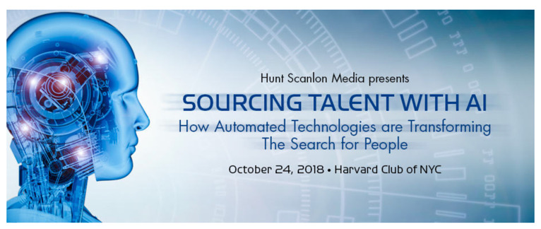 ENGAGE Talent is sponsoring the Hunt Scanlon Media Event - Sourcing Talent with AI on October 24th in NYC