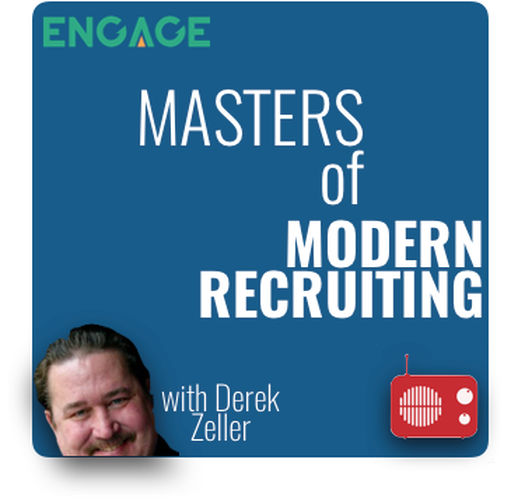 The Masters of Modern Recruiting Podcast! - Episode 9 with Veronica Jenkins (Hive Talent) - a valued ENGAGE Customer