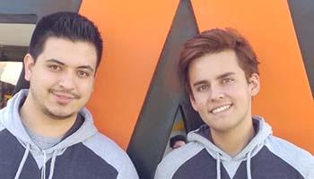 Felicitaciones a nuestros alumnos Xavier Magaña Vera y Rodrigo Gómez Maleno quienes aprobaron el examen internacional FM de la SOA (society of acturies).