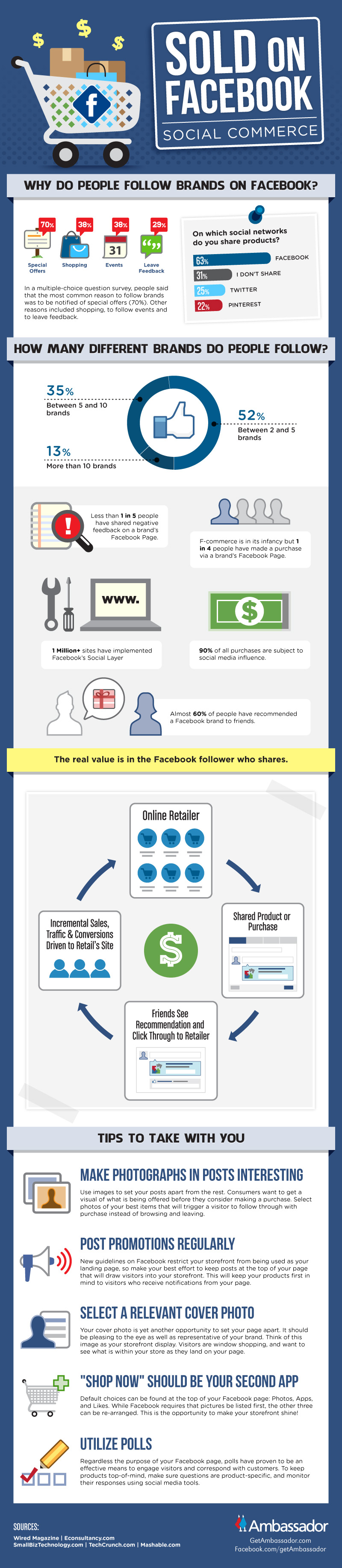 Social commerce infographic