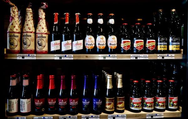 Sélection de bières aux fruits article