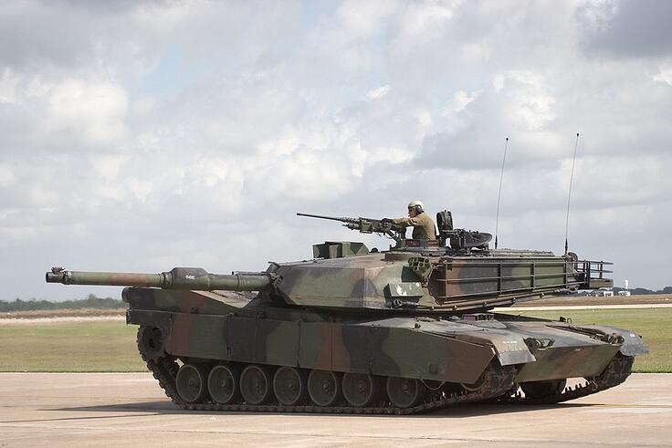 What is an M1 tank and what does it do?