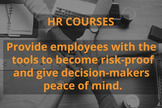 HR course graphic