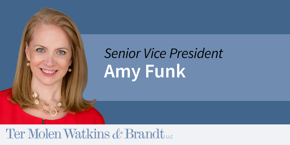 Announcing Amy Funk as Senior Vice President